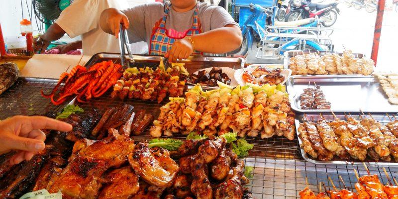 La piața de mâncare